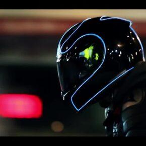 [バイク用品] ヘルメットをTRONっぽく光らせる「LightMode」