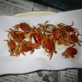 [料理] サワガニを揚げて食う