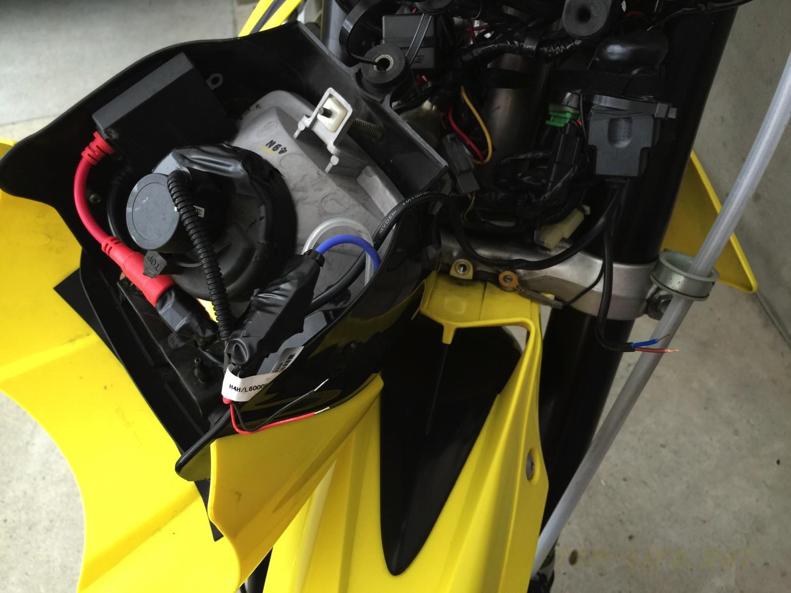 [バイク用品] 配線のプラスマイナスが分かる検電テスター