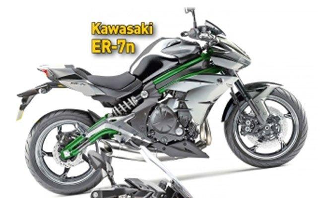 [バイク] 50ccボアアップされたKawasaki ER-7nが出るという噂、H2のカラーを採用?