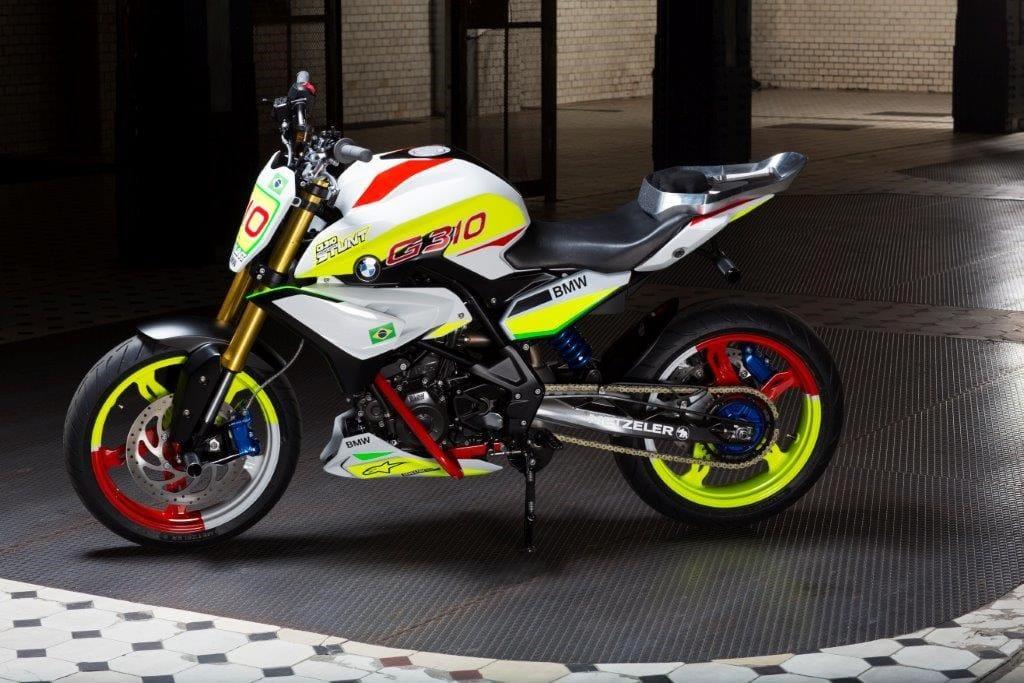 バイク Bmwの310ccスタントコンセプトモデル「g310」(インドtvs製) カスタムライフ