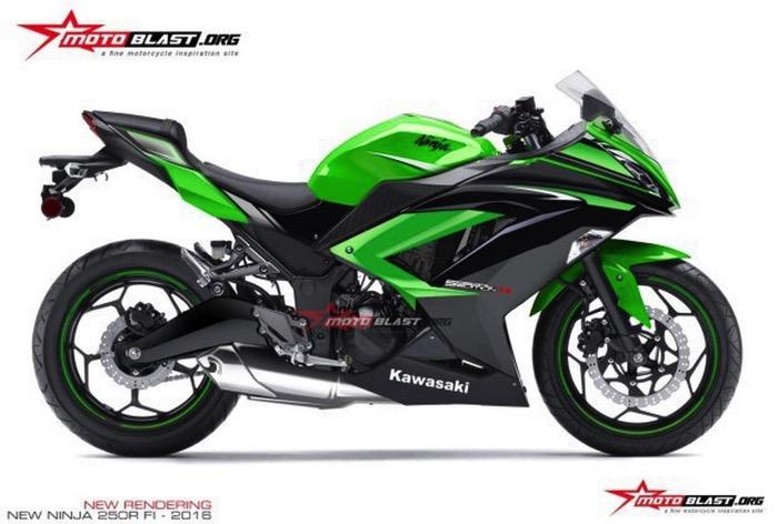 2017年モデルの新型「Ninja 250」は38ps、300ccは43ps(という噂)