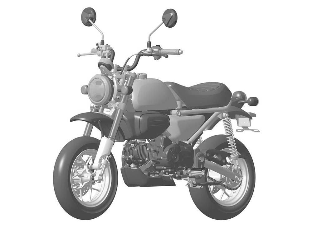 新型「モンキー」が2017年に登場、GROMベースの125cc