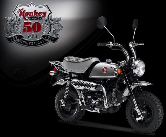 メッキのモンキー50周年スペシャル、500台限定で7/21より注文受付