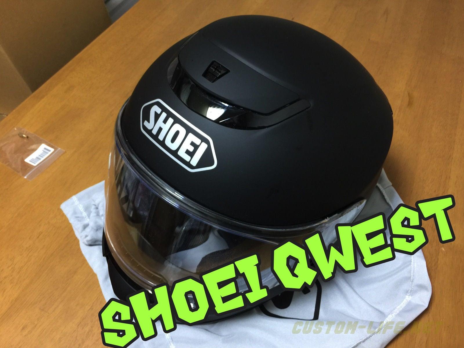 ヘルメットを新調、SHOEI QWESTの適当インプレ