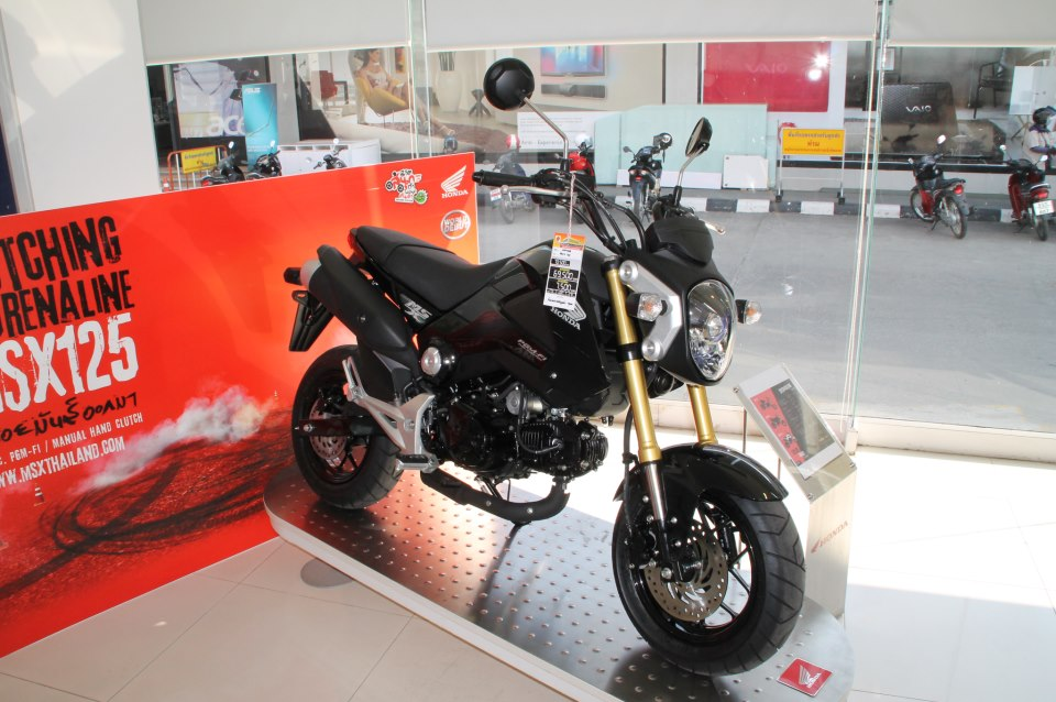 Honda MSX125 Custombike 01