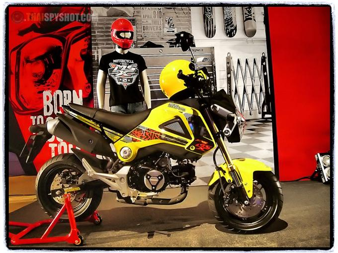 Honda MSX125 Custombike 15