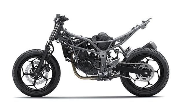 Kawasaki Z250SL 09