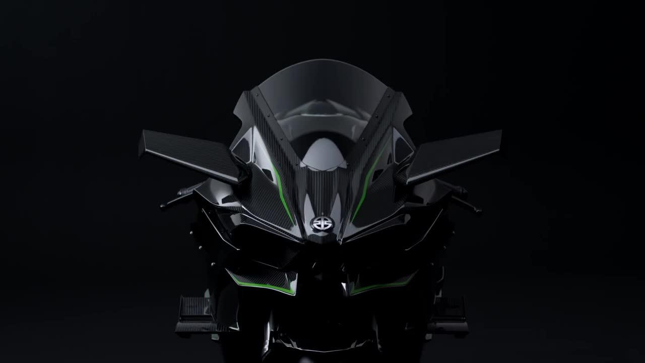 Kawasaki NinjaH2 09