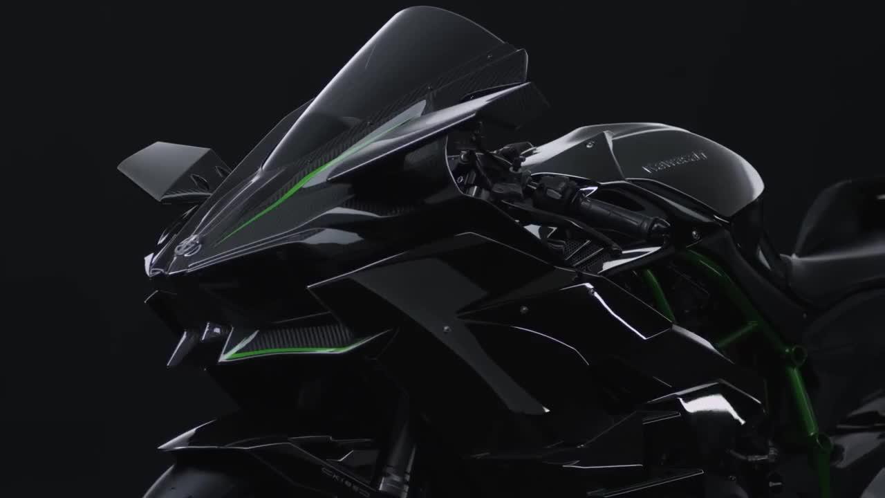Kawasaki NinjaH2 12
