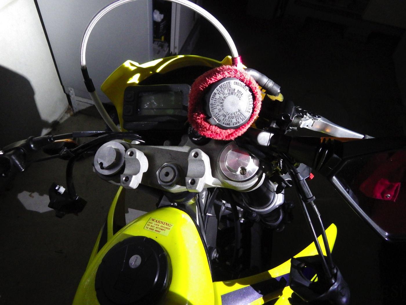 250SBD trackerKLX250 handle 03
