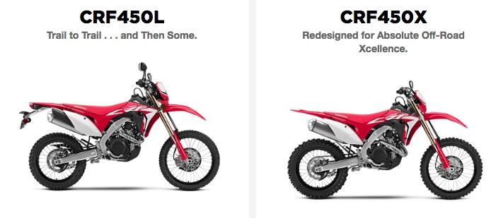 最新設計の450cc本気トレール「CRF450L」がアメリカで発表