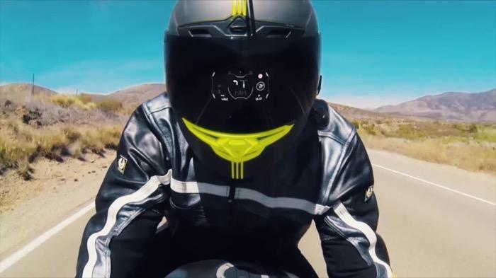 近未来アイテム、ヘルメットに後付できるHUD「KAIKEN」が2019年に発売
