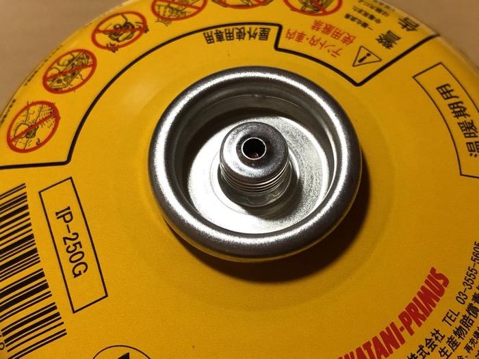 ガスバーナーOD缶の互換性 PRIMUSとキャプテンスタッグ