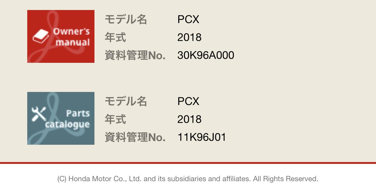 Honda Partslist 02
