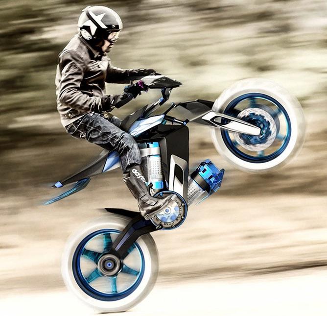 永久機関?水力エンジン搭載の夢のバイクYAMAHA H20 XT