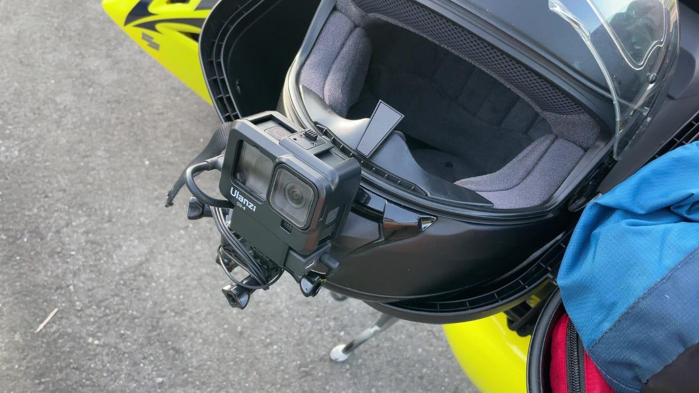 """<span class=""""title"""">GoPro HERO 10の水平維持はバイク動画で使えるか?ヘルメットマウントにして動画撮影テスト</span>"""